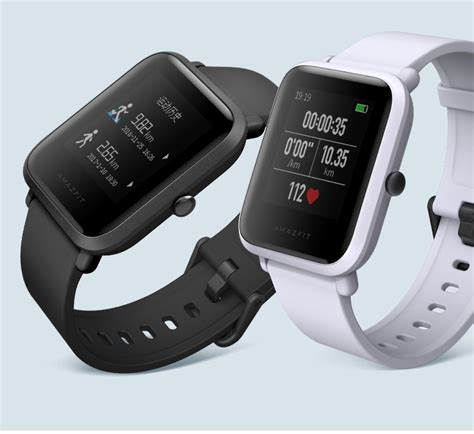 Amazfit Xiaomi Smartwatch Original Huami Version International ceas xiaomi huami amazfit bip lite p艫reri 陌i pre陋uri