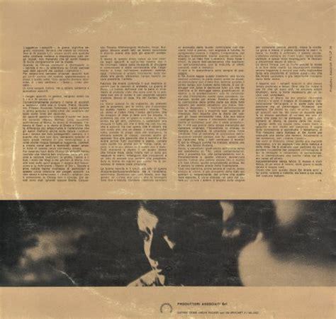 testamento di tito testo fabrizio de andr 233 la buona novella