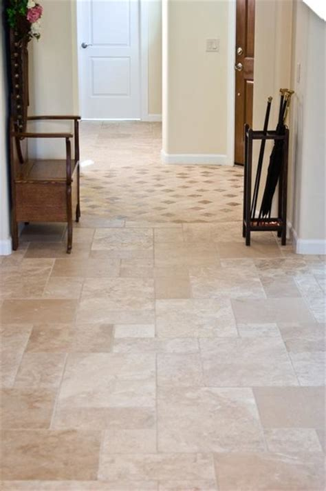 Floor Covering Ideas For Hallways Hallway Tile Flooring Traditional Other Metro By Authentic Durango