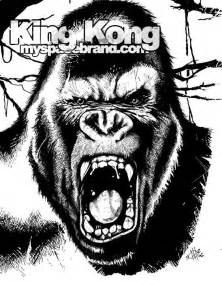 king kong coloring pages 171 free coloring pages