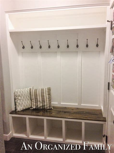 Mudroom Shoe Bench Nissa Lynn Interiors How To Build A Mudroom Bench By Amanda