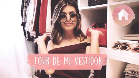 vestidor tour dulceida youtube - Vestidor Dulceida