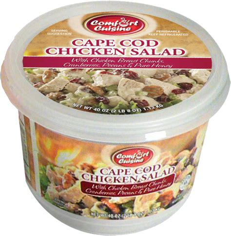 cape cod salad 2 lbs container of comfort cuisine cape cod chicken salad