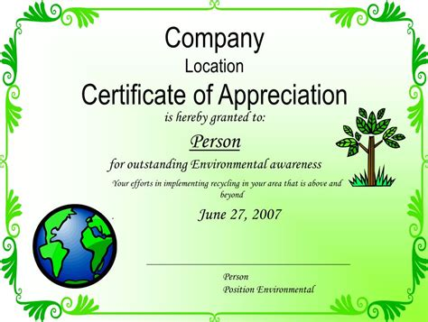 certificate of recycling template certificate of recycling template choice