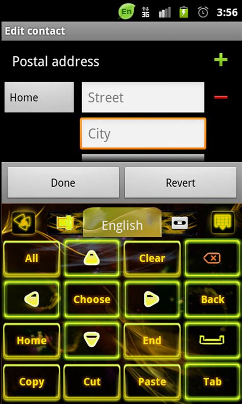 themes for non android phones go keyboard yellow flame theme free android app android
