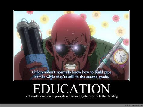 Meme Education - education anime meme com