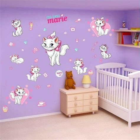 chat decoration maison decoration sticker mural chat aristochats achat