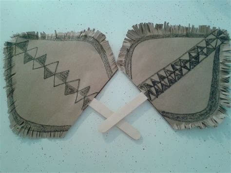 fiji crafts for how to make fijian fan for props or crafting