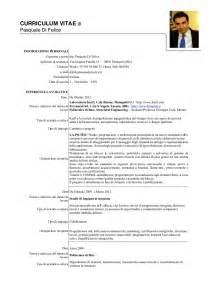Curriculum Vitae Italiano by Curriculum Vitae Pasquale