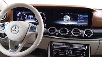 preview of the 2016 e class interior design mercedes