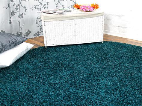 teppich petrol blau hochflor langflor teppich shaggy petrol rund teppiche