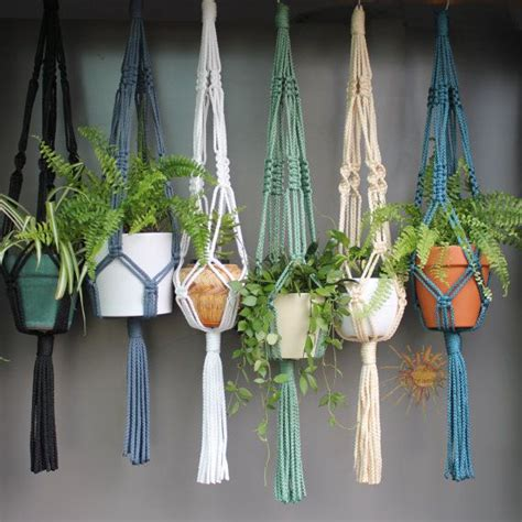 Free Patterns For Macrame Plant Hangers - best 25 macrame plant hangers ideas on plant