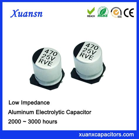 low leakage surface mount capacitor smd low esr 470uf 25v surface mount capacitor is our low impedance products