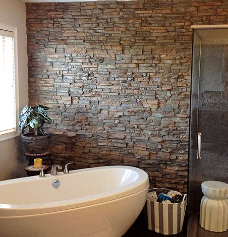 stone bathroom wall panels faux stone shower wall panels