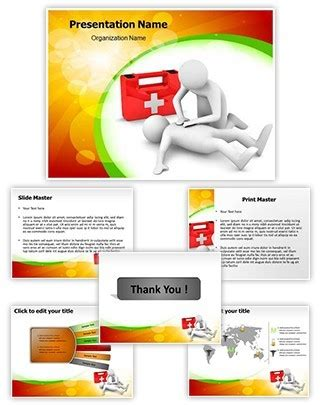 Professional First Aid Editable Powerpoint Template Aid Powerpoint Template