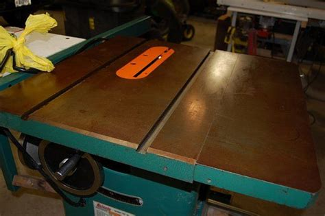 table saw top rust prevention removing rust from an table saw top gt http