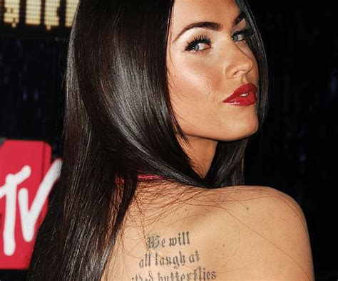 celebrity tattoos female 35 well renowned tattoos on