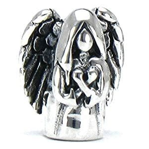 Buy Bella Fascini Guardian Angel   Cole Collection   Solid 925 Sterling Silver European Charm