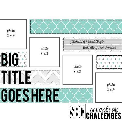 1000 ideas about scrapbook page layouts on pinterest