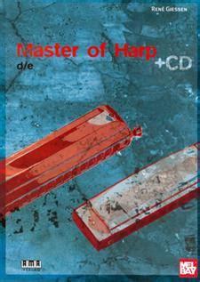 Buku Harmonica Chromatic Harmonica Include Cd master of harp book cd set ama verlag mel bay