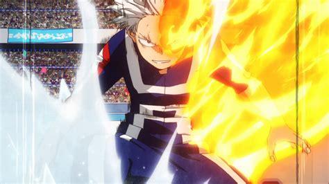 hero academia episode  shoto todoroki origin