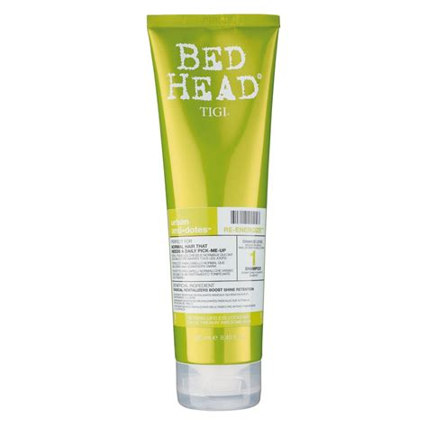 bed head hair products tigi bed head urban antidotes re energize shoo damage
