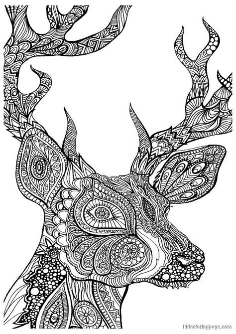 Advanced Coloring Pages Of Animals Coloring Home Advanced Coloring Pages