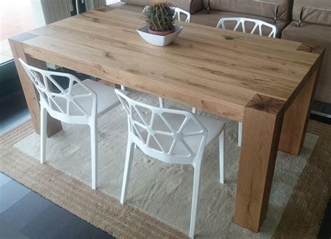 tavolo rovere massello tavolo natura in rovere vecchio massello tavoli a prezzi