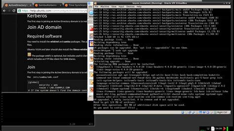 joining linux server  windows domain youtube