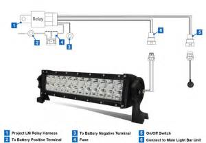 How To Wire A Led Light Bar Wiring A Relay For Led Lights A Free Printable Wiring Diagrams