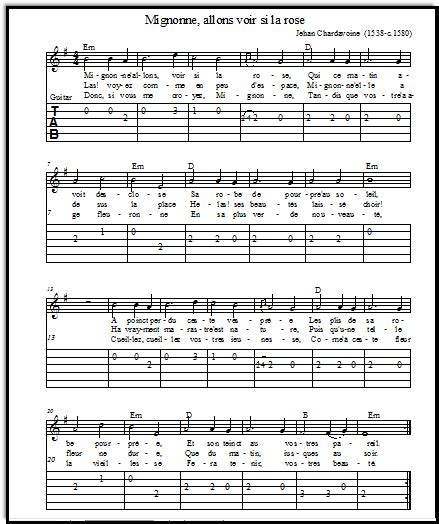 printable sheet music guitar sheet music printable and free from the french