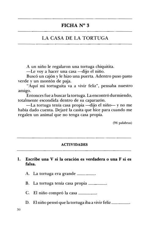FICHA N° 3 LA CASA DE LA TORTUGA A un niño le regalaron