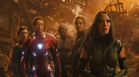 film baru war avengers infinity war cetak sejarah jadi film hollywood