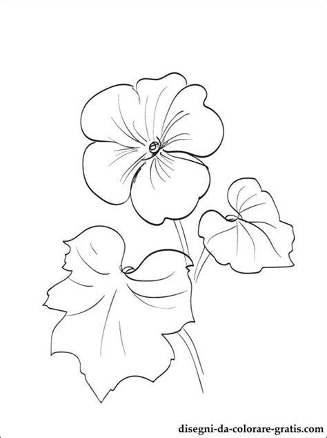 fiori da stare e colorare per bambini disegni geranium da colorare disegni da colorare gratis