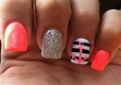 summer acrylic nail designs with anchor 60 best images about nail designs on pinterest nail art