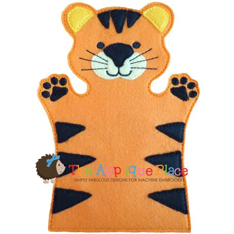 tiger puppet template puppet tiger