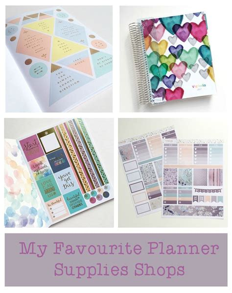 free printable planner supplies 17 best images about planners filofax and stationery on