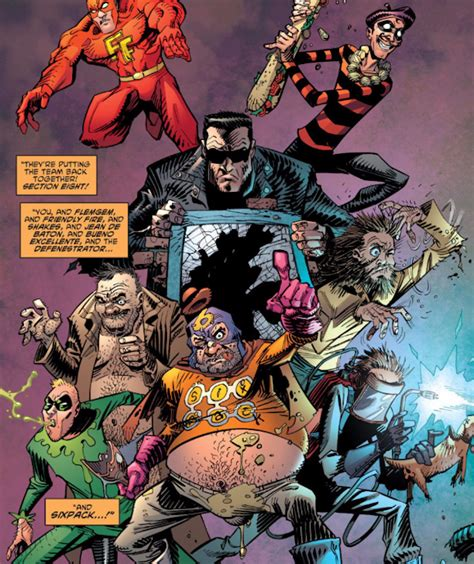 section 8 comics get a taste of the big changes coming to dc comics for