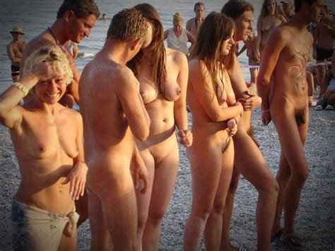 Nude Beach Would You Do It Get Comfortable In