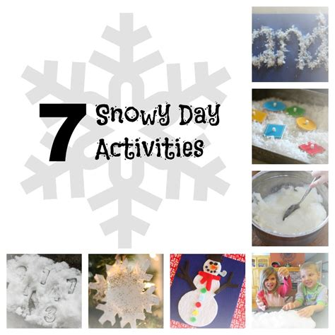 day activities for the snowy day preschool activities k k club 2017