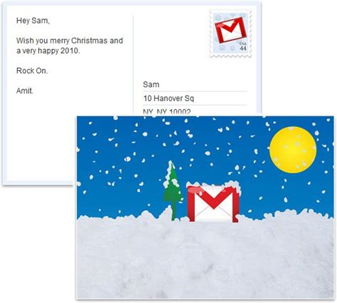 Can You Send Visa Gift Card Via Email - google can help you send holiday greetings via snail mail for free