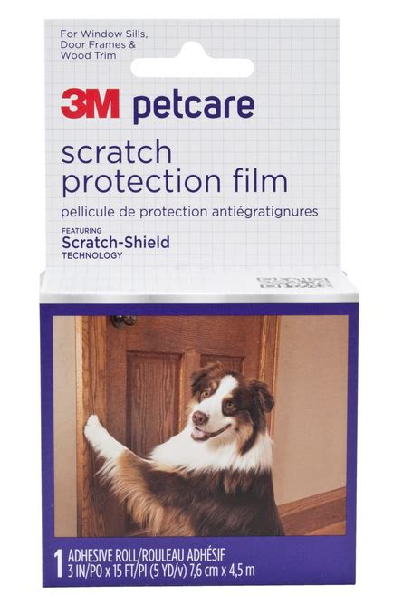 scratching door protector 3m petcare scratch protection modern magazine