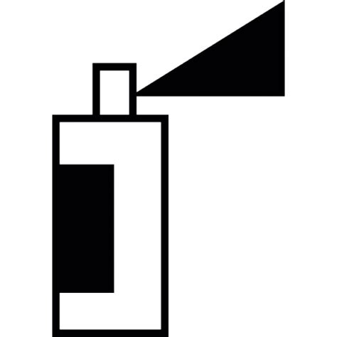 figure aerosol sprays with recycle symbol icon vector image by grmarc spray can ios 7 interface symbol icons free download