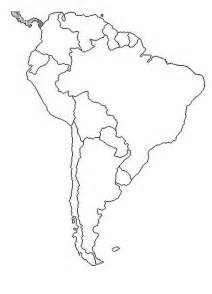 map of south america coloring color area