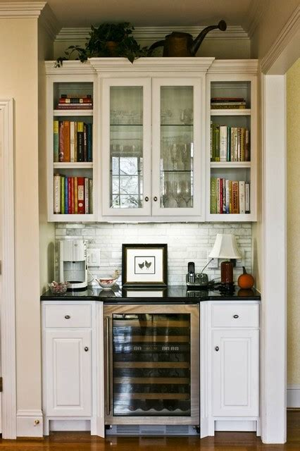 beverage center traditional kitchen other metro by