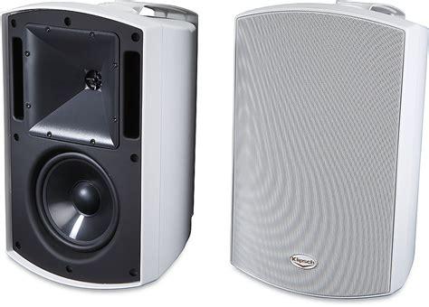 klipsch aw 650 white outdoor speakers at crutchfield