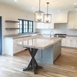 idea for kitchen islands trestle base island ideas home art blog