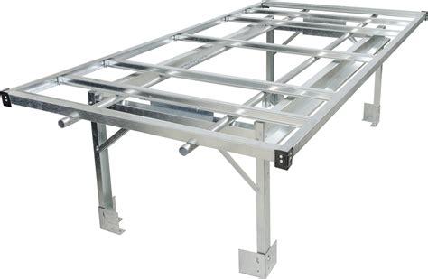 bench system hydrofarm 4 x 8 rolling bench system hf agt10001