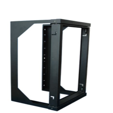 swing out wall mount rack 20u 4 post server open frame rack cabinet wall mount swing