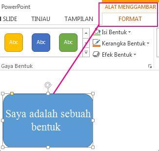 format ppt adalah mengubah warna di kotak teks atau bentuk dukungan office